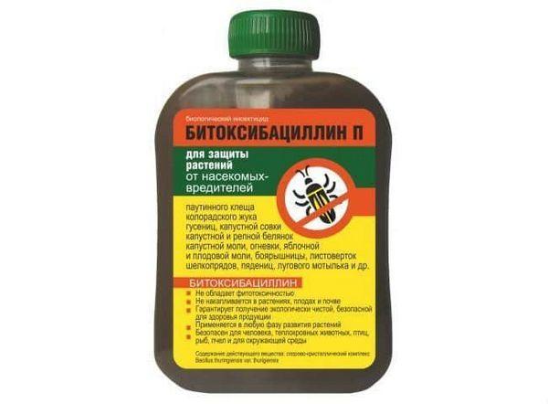 Bitoxybacilínové liečivo