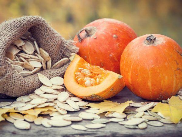 Вживання гарбузового насіння при простатиті